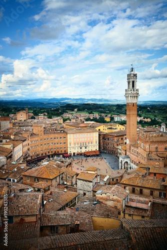 Foto Siena bell tower