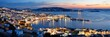 Mykonos bay night