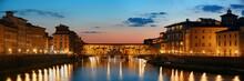 Florence Ponte Vecchio Panoram...