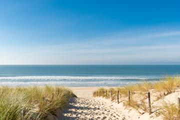 Fototapeta Morze CAP FERRET (Bassin d'Arcachon, France), la plage des Dunes