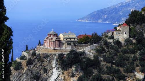 фотография  A New Skete on the Athos mountain
