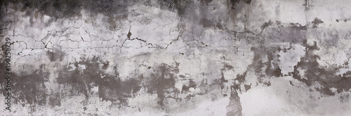 Fotografía  Horizontal design on cement and concrete texture with cracks for pattern and abstract background