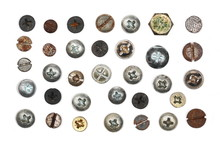 Collection Old Rusty Screw Hea...