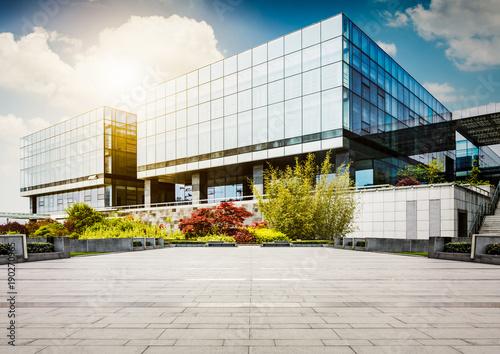 Large modern office building Fototapeta