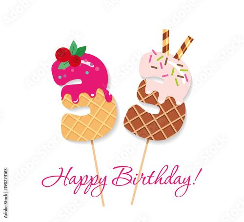 Photo  Happy Birthday card