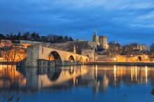 View On Pont D'Avignon 12th Ce...