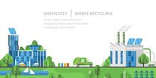 Ecology Landscape. Green City,...