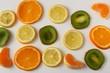 Texture: orange, lemon, kiwi