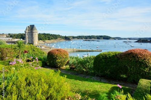 Fotografie, Obraz  La tour Solidor à Saint-Servan, ville de Saint-Malo en Bretagne