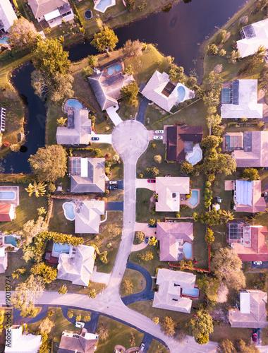 Staande foto Marokko Urban Aerial Photography South Florida.