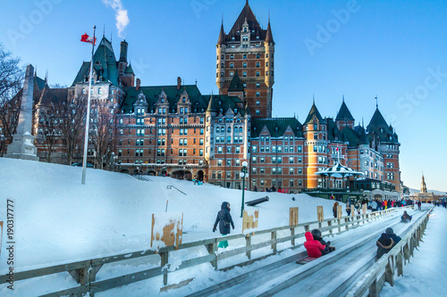 Fototapeta premium Chateau Frontenac w Quebec City