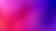 Sunny Summer Bright Sweet Multicolor Blurred Background. Purple, Ultraviolet, Violet, Red - Fashion Pop Art Gradient Mesh. Trendy Hipster Out-of-focus Effect. Horizontal Layout.