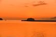 日本の風景  Japanese landscape   夕焼けの小さな漁港 Small fishing port of sunset