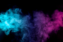 Dense Multicolored Smoke Of   ...