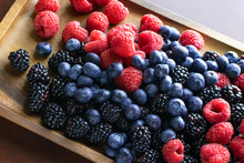Assorted Variety Of Fresh Frui...