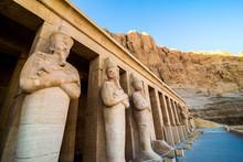 January 2018 - Luxor, Egypt. The Great Temple Of Hatshepsut, Karnak, Luxor, Egypt