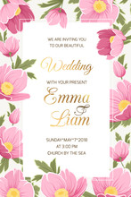 Wedding Event Invitation Card ...