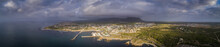 Panoramic View Over The Small ...
