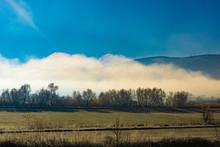 Fog Covered Lake Stymfalia Loc...