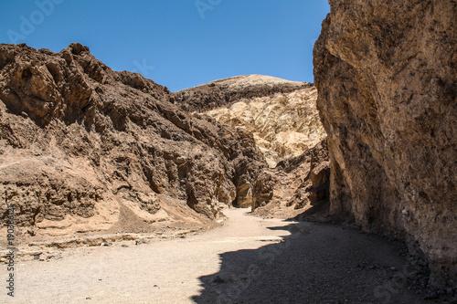 Foto op Plexiglas Chocoladebruin Death Valley Landscape