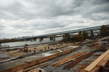 Reconstruction Of The Embankment Of The River Ob, Novosibirsk