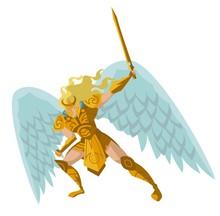Angel Warrior With Sword