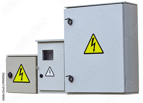 Photo Outdoor cabinets for electrical equipment