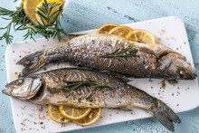 Baked Sea Bass With Lemon And ...