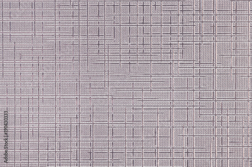 Obraz na plátne Aluminum sheet embossed with cloth pattern texture
