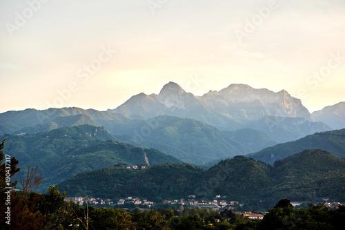 Photo Apennines view, ITALY / Pieve Fosciana