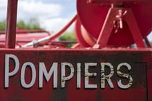 Camion De Pompiers Vintage