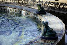 Froschbrunnen Im Maria Luisa P...