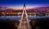 Fototapeta Miasto - Warszawa Most Świętokrzyski