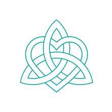 Vector Icon: Celtic Knot, Triq...