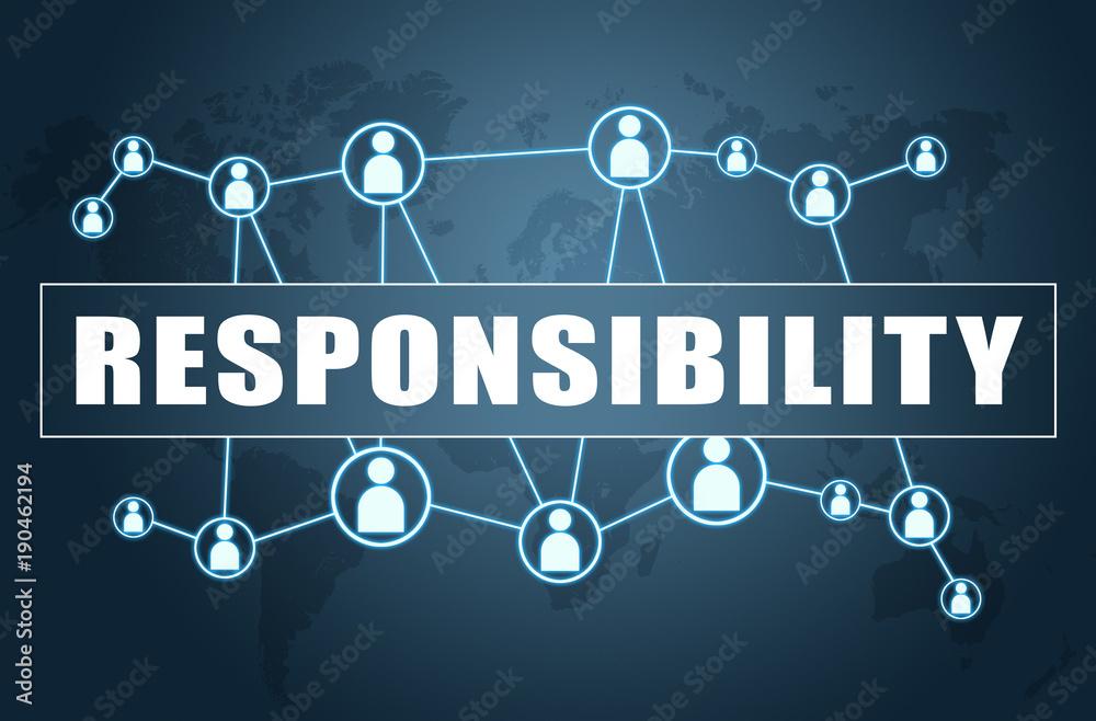 Fototapeta Responsibility