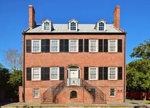 The Isaiah Davenport Historic House Build In 1820 In Savannah, Georgia