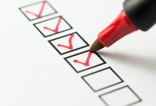 Checklist Box