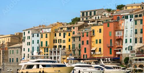 Plakat Jachty w Porto Venere - Liguria Włochy