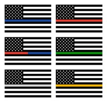Vector American Thin Line Flag...