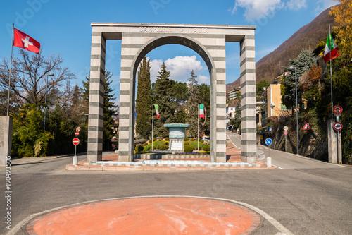 Fotografie, Obraz  Campione d'Italia, Lago di Lugano, Como, Lombardia, Italia