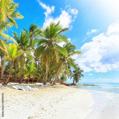 Stickers pour porte Pierre, Sable Vacation in Dominican Republic
