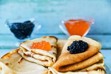 Russian Maslenitsa, Pancakes W...