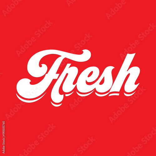 Fresh Logo Company Logo With Word Fresh Letter F Creative Logo