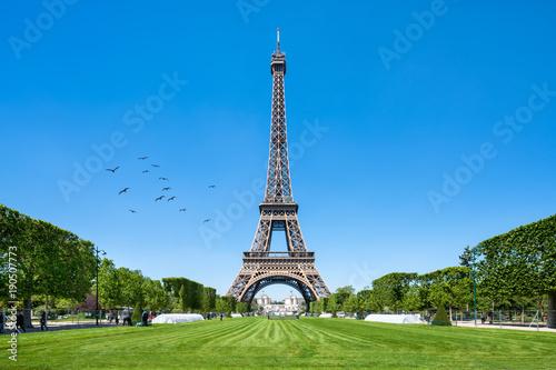 Wieża Eiffla w Paryżu, Francja