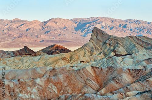Poster de jardin Parc Naturel Zabriskie Point in Death Valley National Park in California, USA