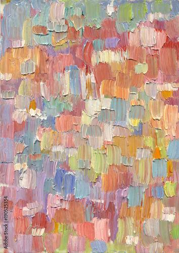 Fototapeta reprodukcje  wysoce-teksturowane-kolorowe-abstrakcyjne-tlo-malarstwa-pociagniecie-pedzla-naturalna-konsystencja-oleju