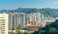 View Of The Sha Tin District I...