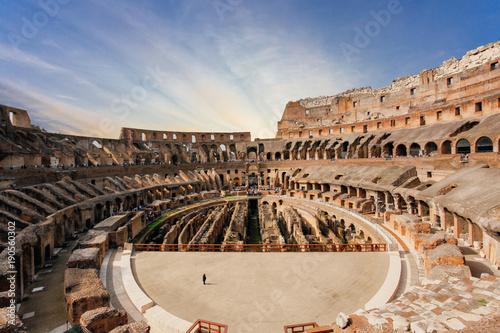 Interior of Colosseum Wallpaper Mural