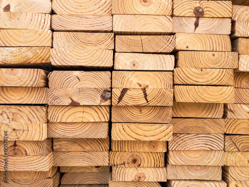 Fotografia, Obraz  Stacks of Lumber