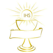 Gold And Shiny Chalice - First...